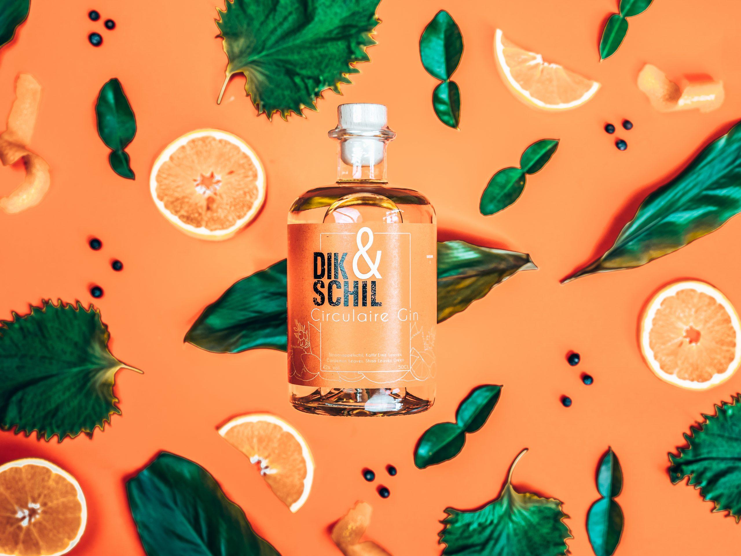 Het persoonlijke verhaal achter Dik&Schil, Circulaire Gin, Alles over gin.