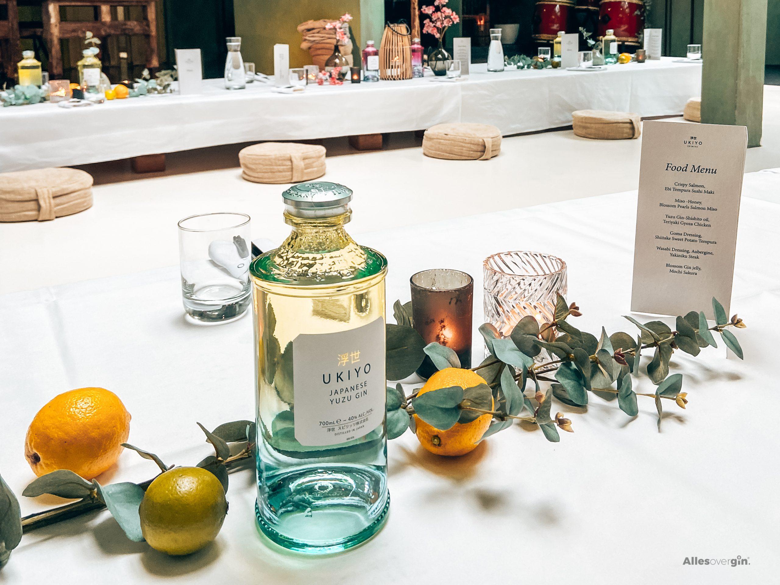 Ukiyo Gin, lancering Blossom Gin en Yuzu Gin, Amsterdam, The White Room, Alles over gin.